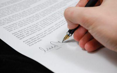 Legalisatie handtekening is noodzakelijk als je echtheid handtekening aan wilt tonen